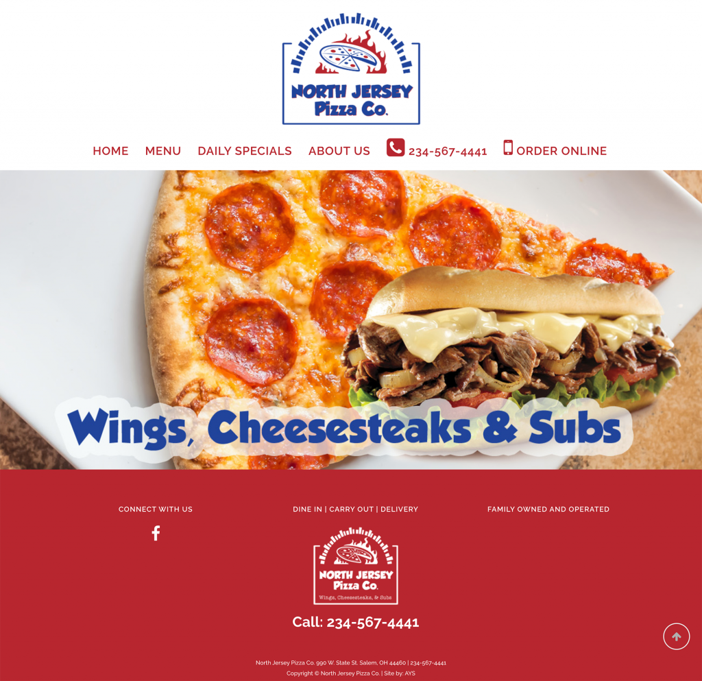 North Jersey Pizza Co.